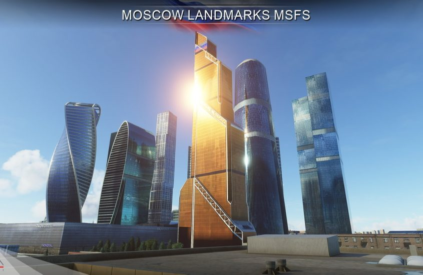 Drzewiecki Design releases Moscow Landmarks for MSFS
