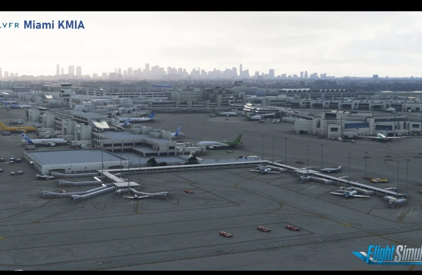LatinVFR releases Miami KMIA for MSFS