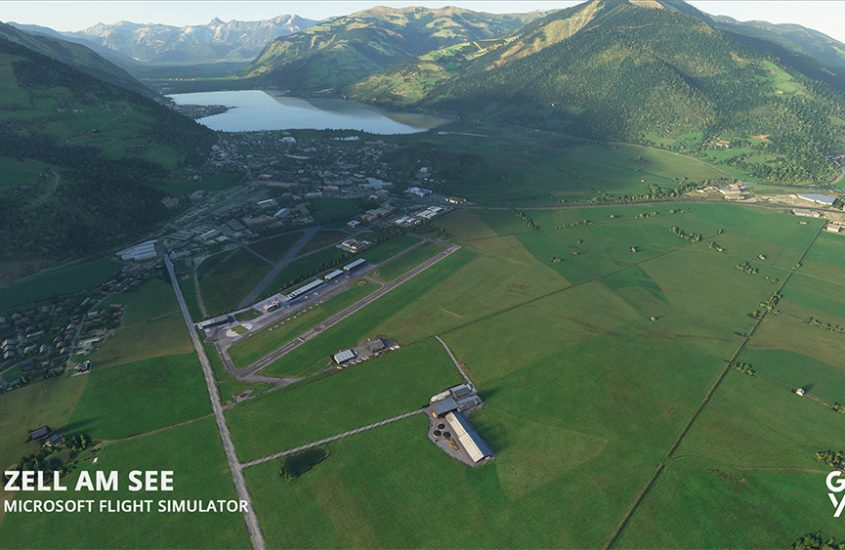 Gaya Simulations releases Zell am See airport – LOWZ