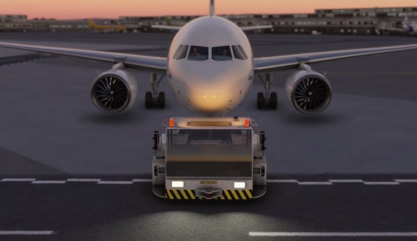 FS2Crew releases Pushback Express for MSFS