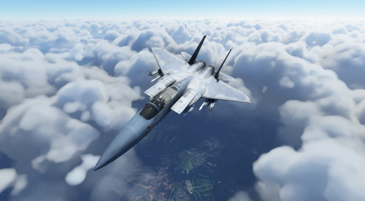 F-15 Eagle coming soon to MSFS