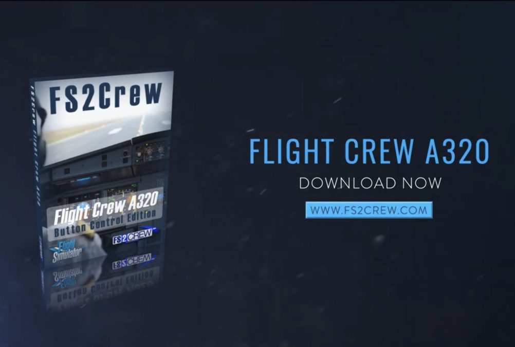 Flight Crew A320 (Button Control) Released for MSFS