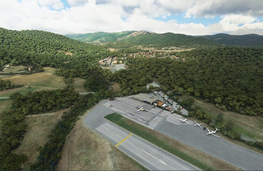 Another Aerosoft airport, Saint-Tropez, released for Flight Simulator