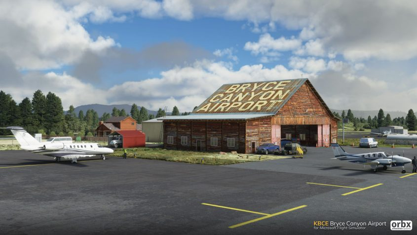 ORBX announces Bryce Canyon Airport for MSFS