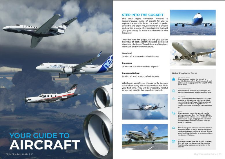 Download this Guide to Flight Simulator and discover all you need to know about MSFS