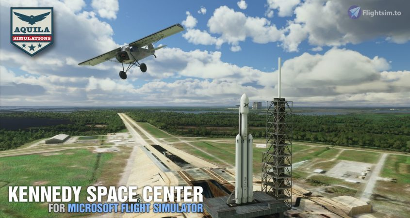 This free Kennedy Space Center scenery addon will bring you closer to a rocket than ever