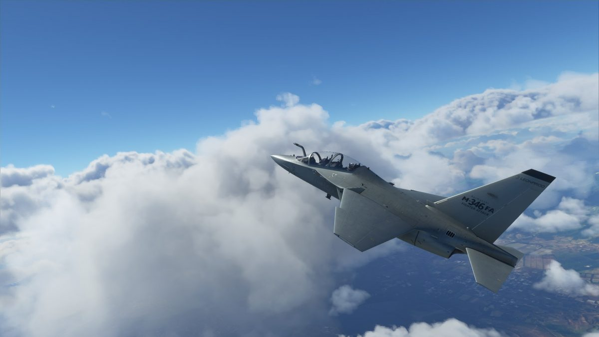 Another military jet coming to Flight Simulator: the M-346
