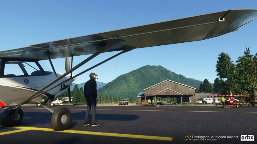 Orbx Announces Darrington Municipal For MSFS