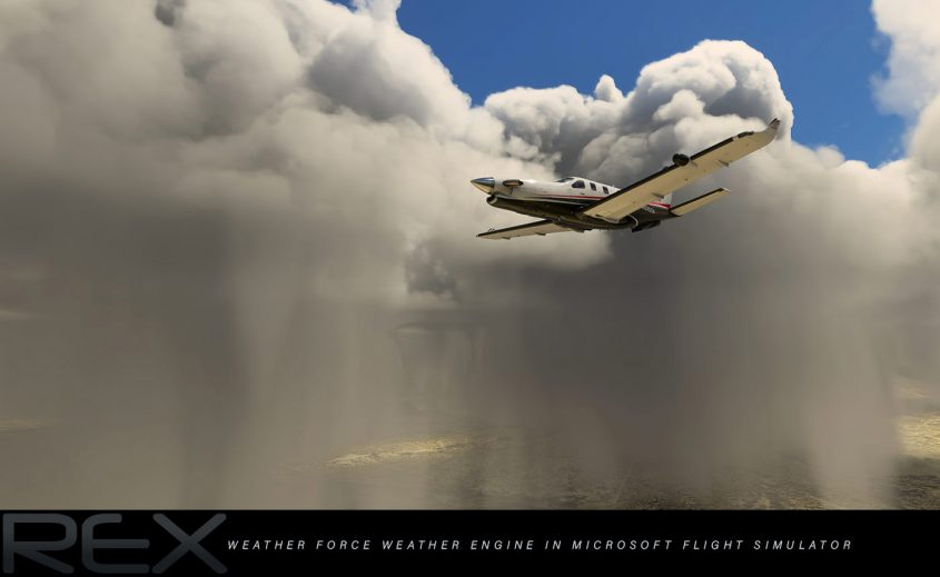 REX announces Weather Force, a new weather engine for Flight Simulator
