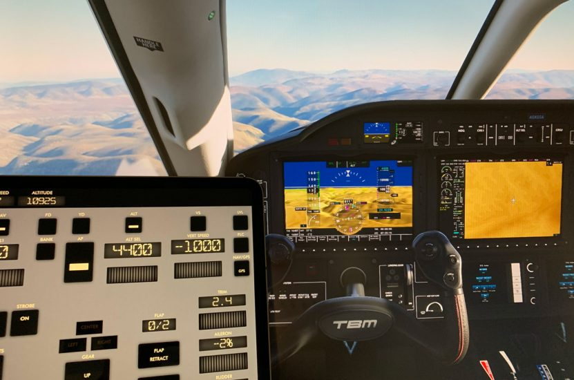 Control your aircraft in MSFS with this iPad and Android app