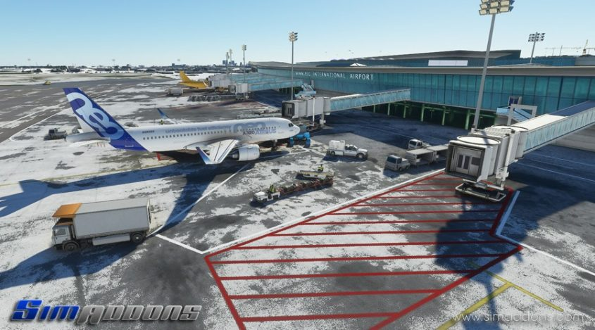 SimAddons releases several Canadian Airports for MSFS