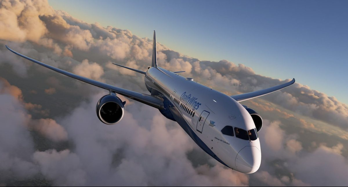 QualityWings announces development of 787 Collection for MSFS