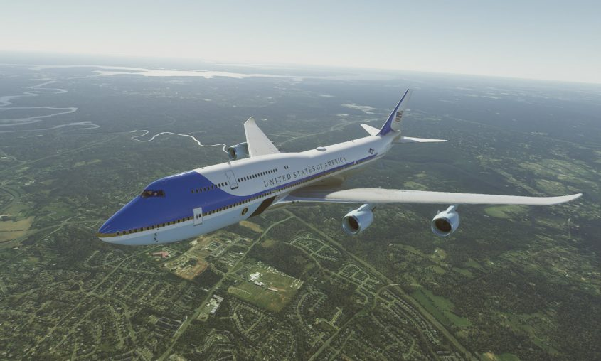 Salty Simulations excellent 747-8 Mod updated to v0.1.0