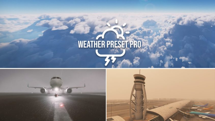 SoFly releases 40 Unique Weather Presets for Flight Simulator