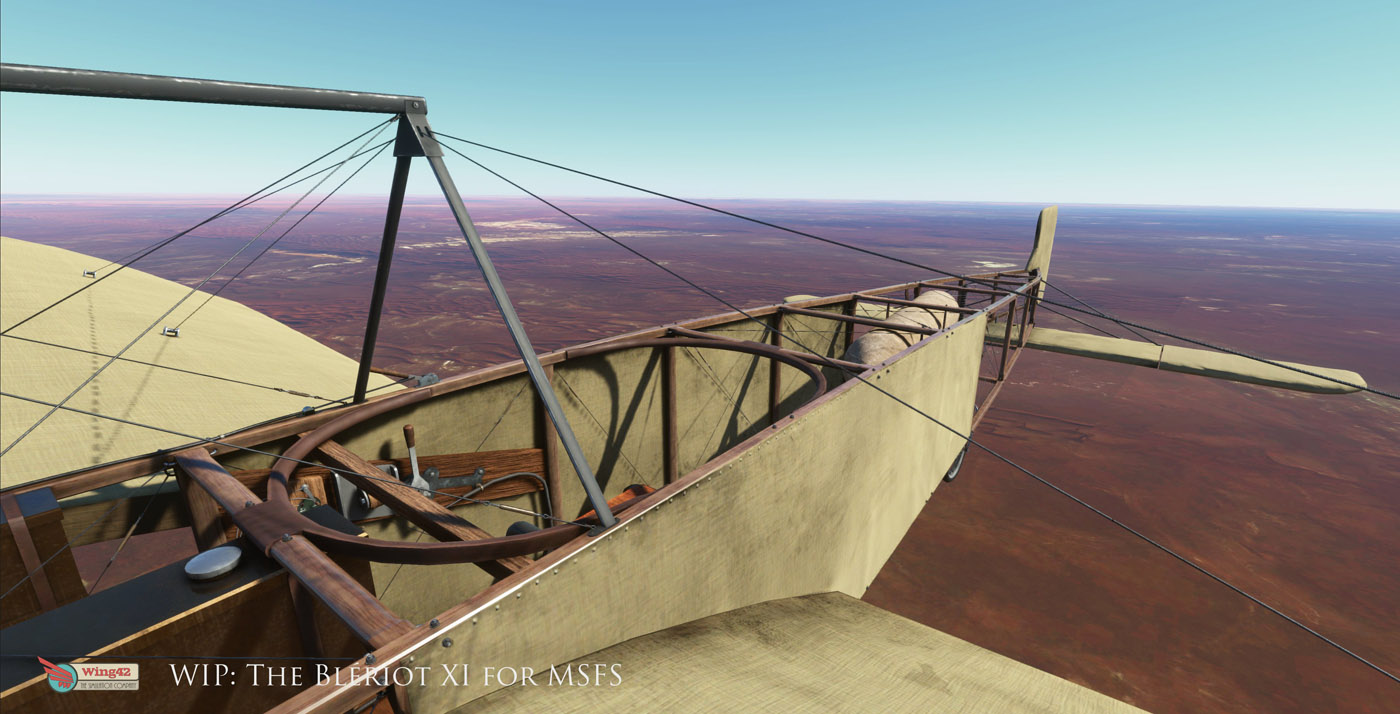 bleriot xi for msfs 1