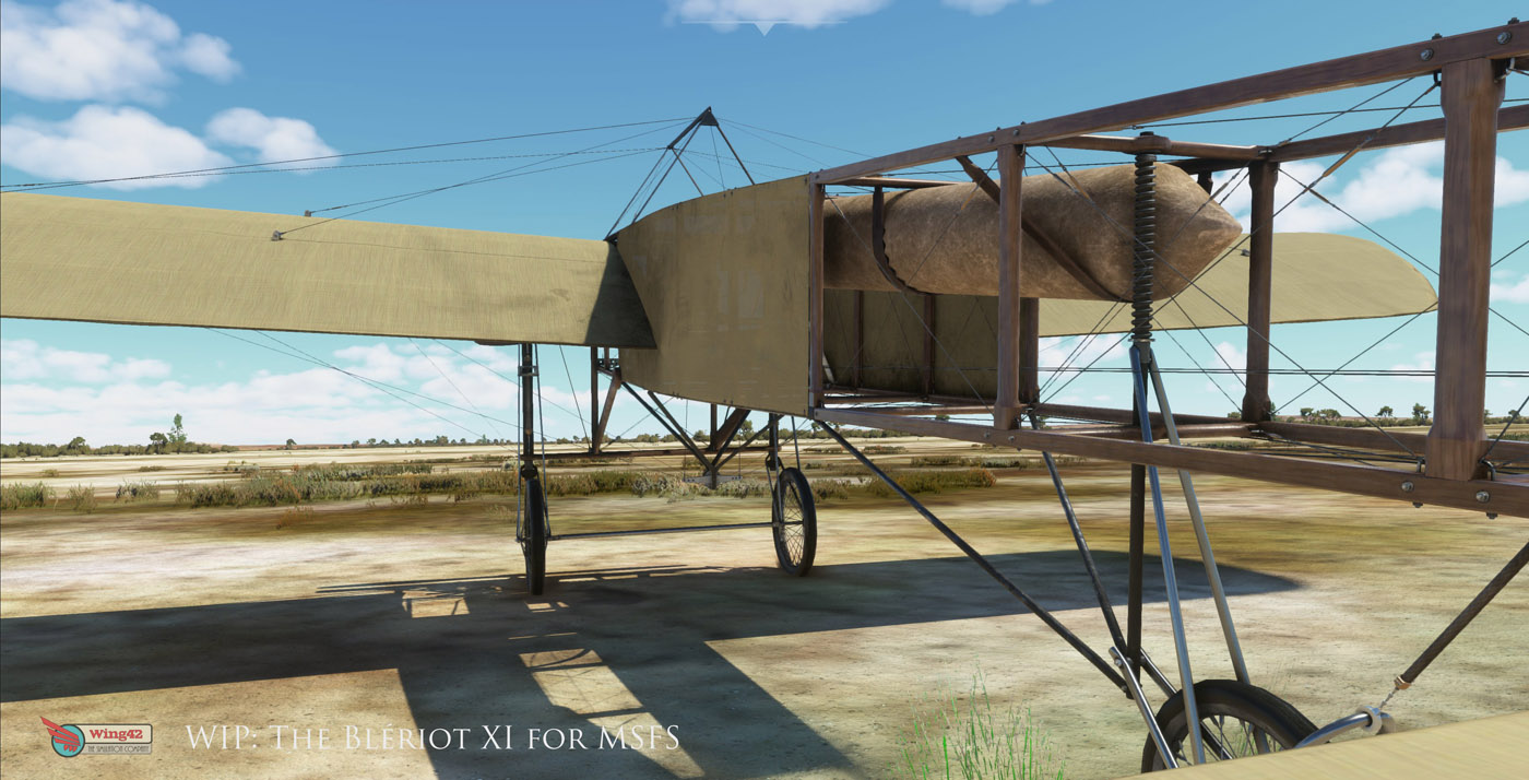 bleriot xi for msfs 2