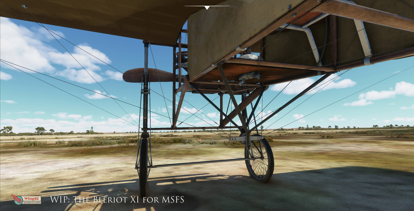 bleriot xi for msfs 4