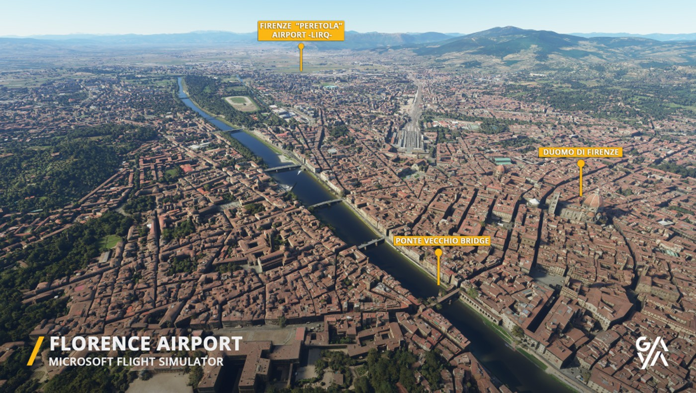 florence airport lirq msfs 1