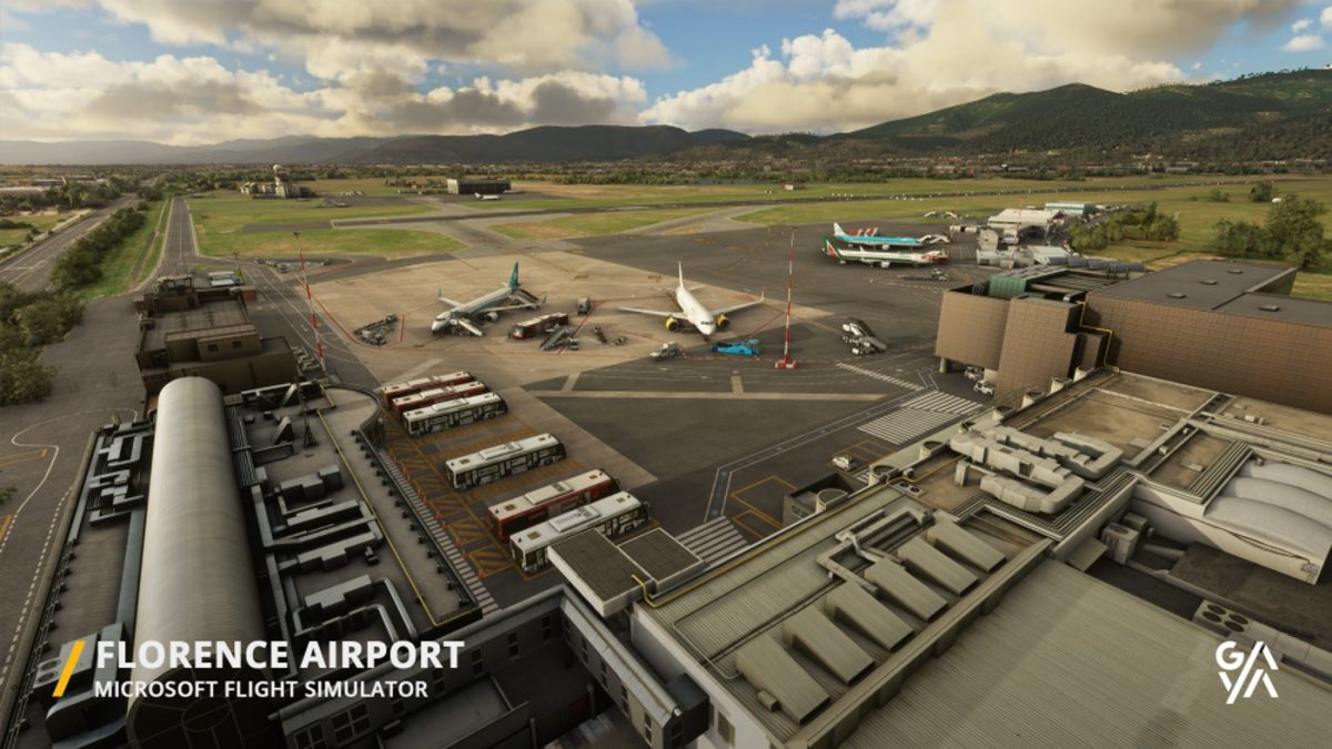 Gaya Simulations announces Florence LIRQ airport