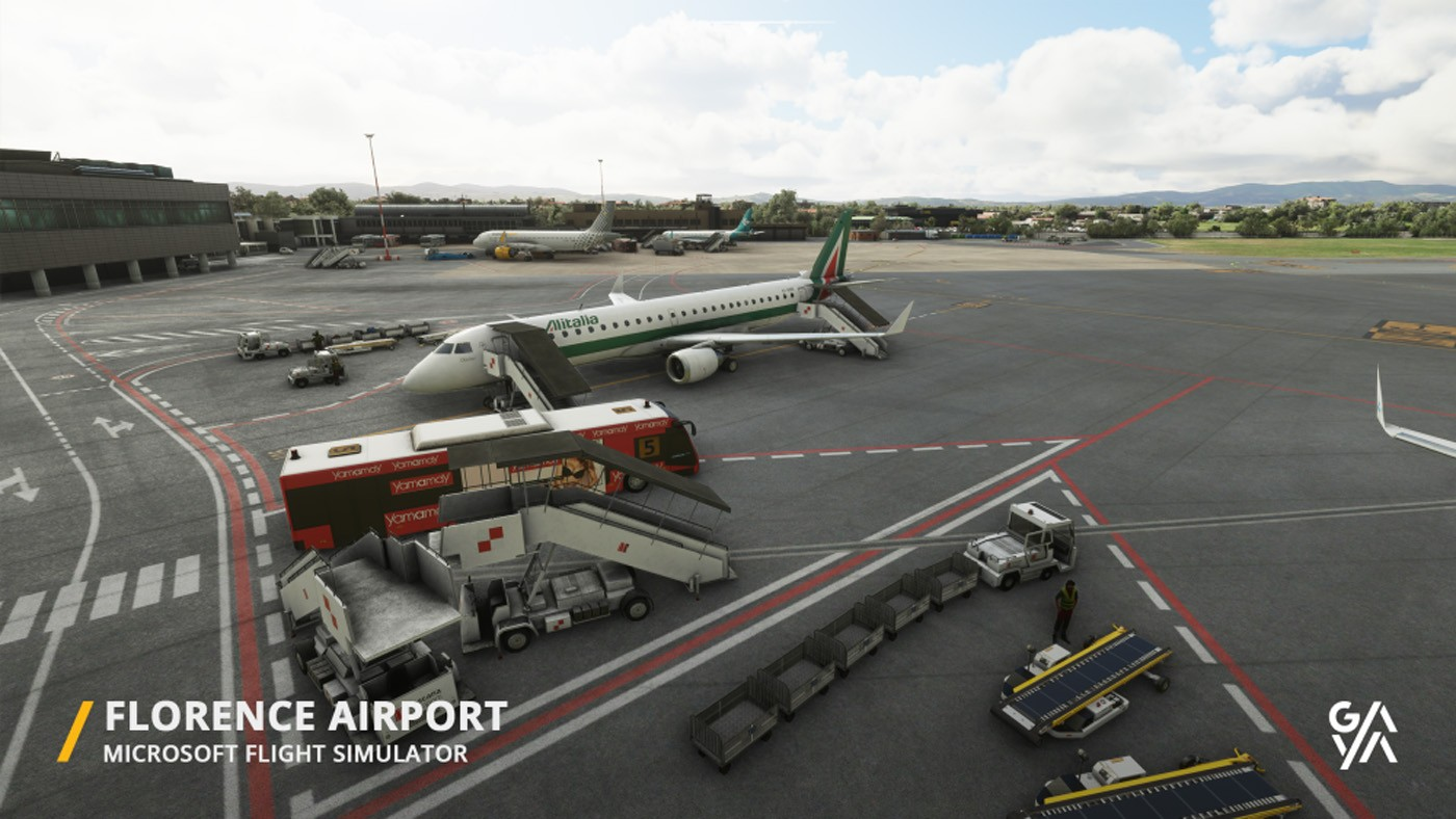 florence airport lirq msfs 3
