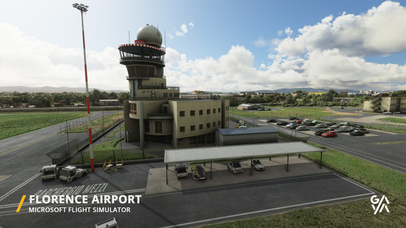 florence airport lirq msfs 4