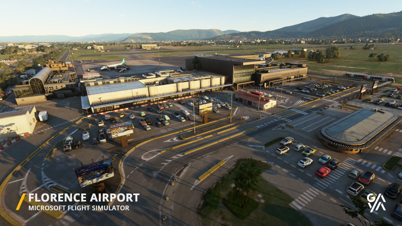 florence airport lirq msfs 6