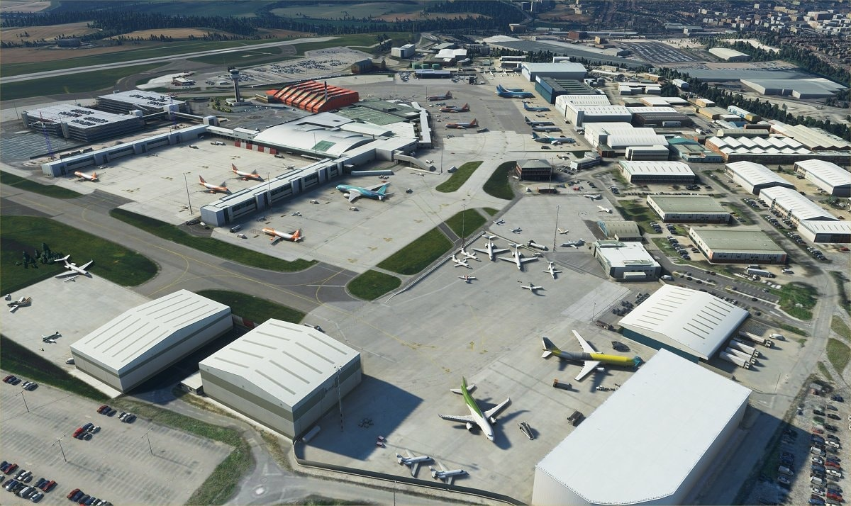 luton airport msfs 5