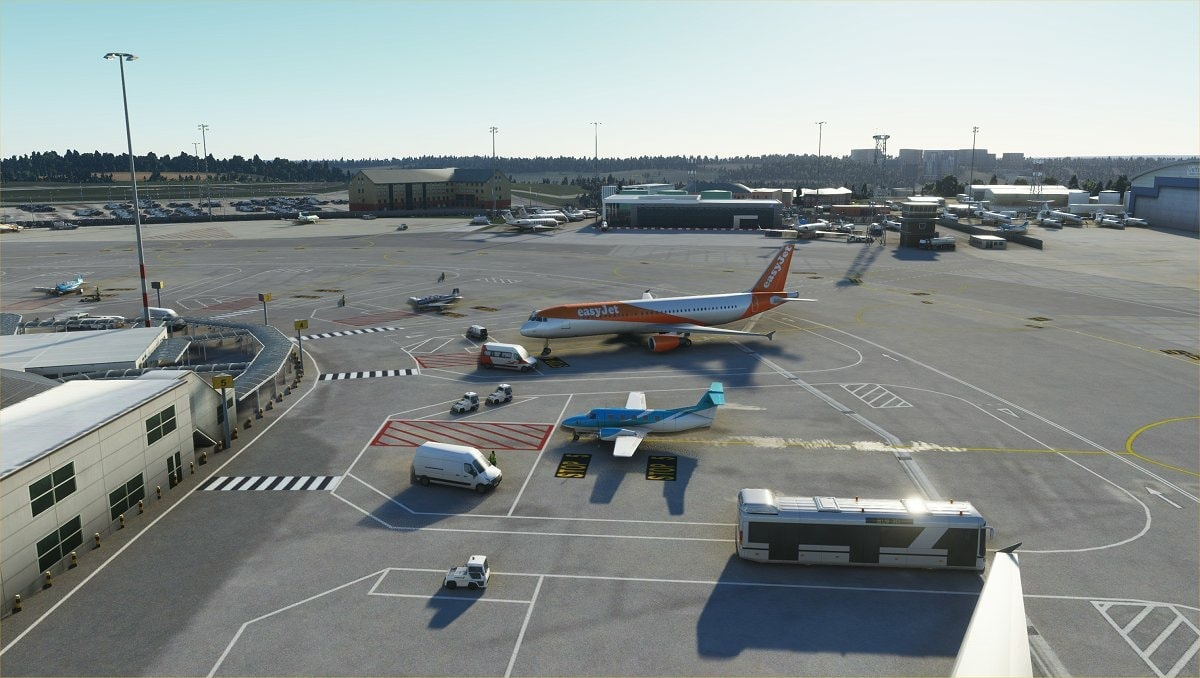 luton airport msfs 6