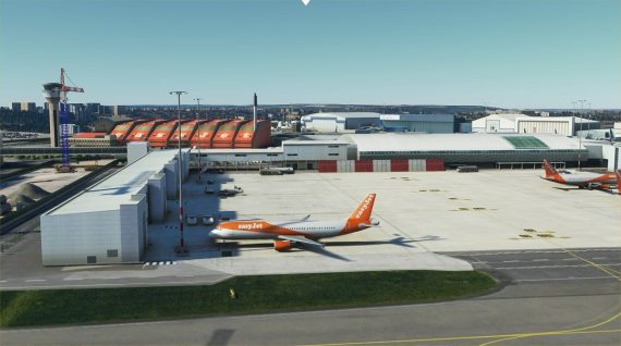 luton airport msfs 7