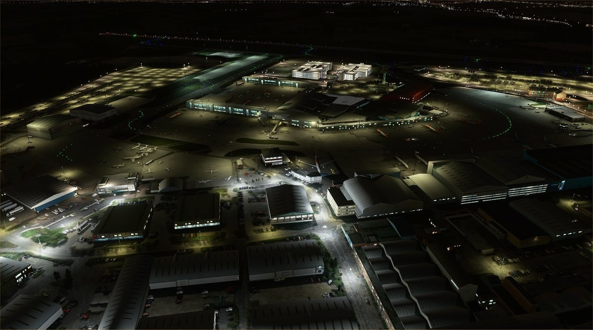 luton airport msfs 8
