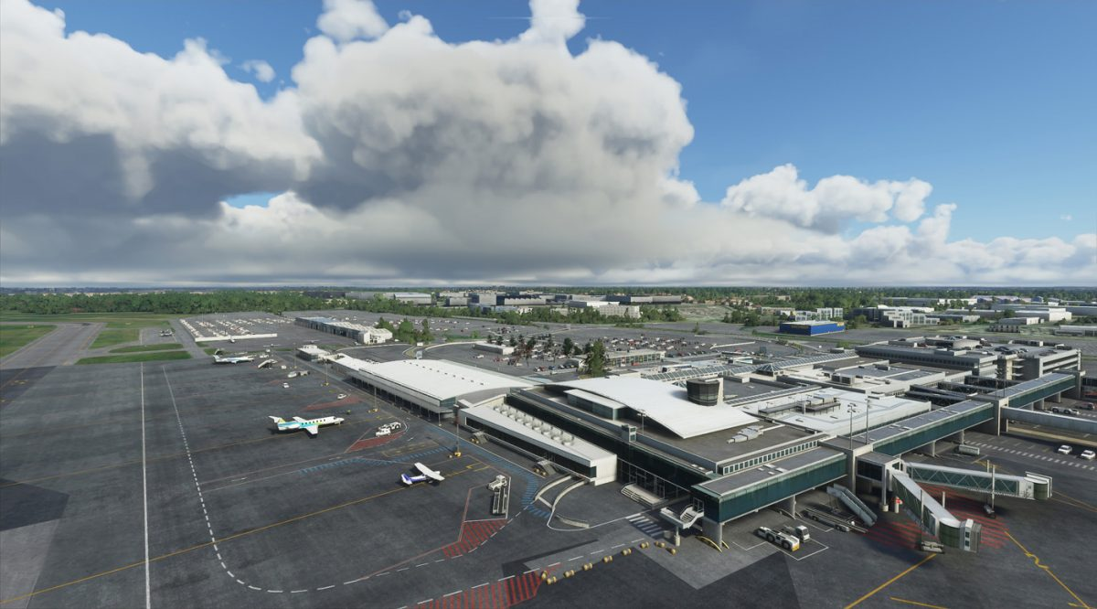 JetStream Designs releases Nantes Atlantiques airport for MSFS