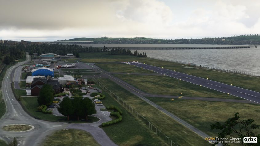 Orbx releases Scotland's Dundee Airport – EGPN