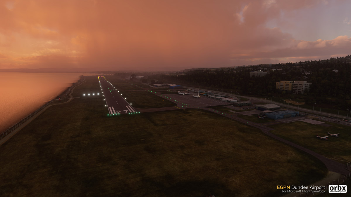 EGPN Dundee Airport MSFS 2