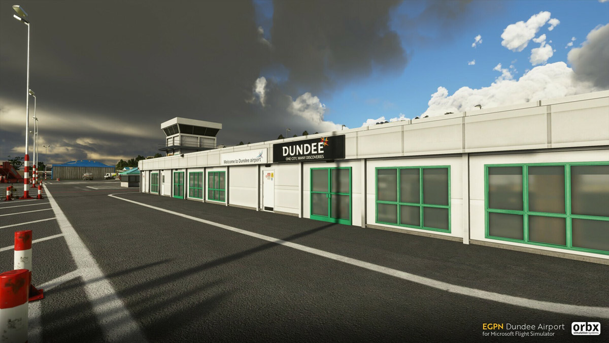 EGPN Dundee Airport MSFS 3