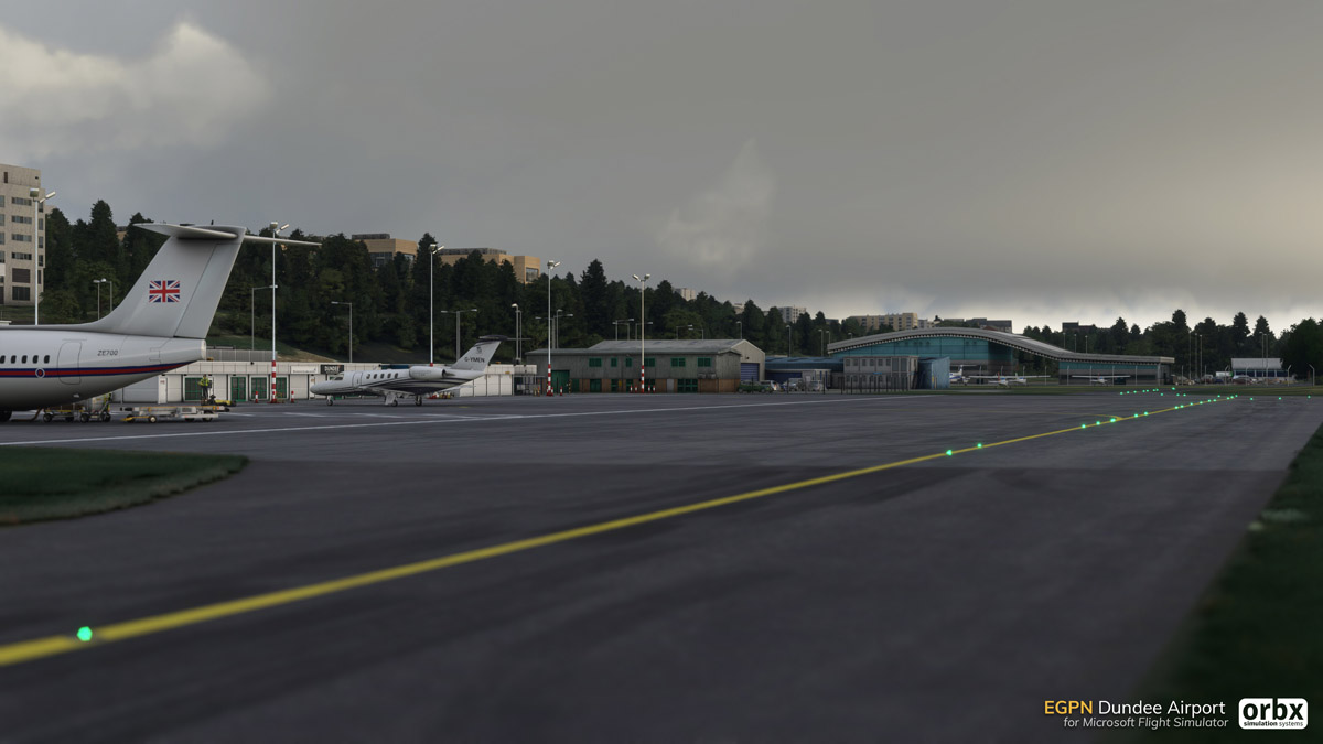 EGPN Dundee Airport MSFS 5