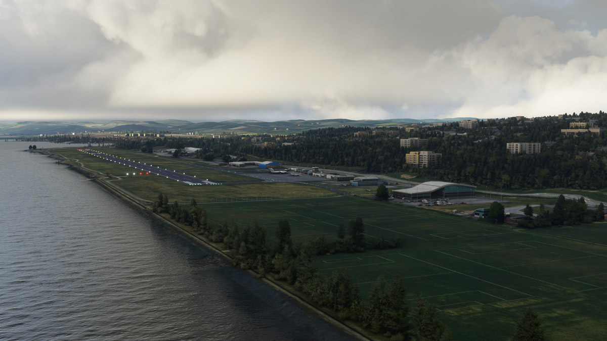 EGPN Dundee Airport MSFS 6
