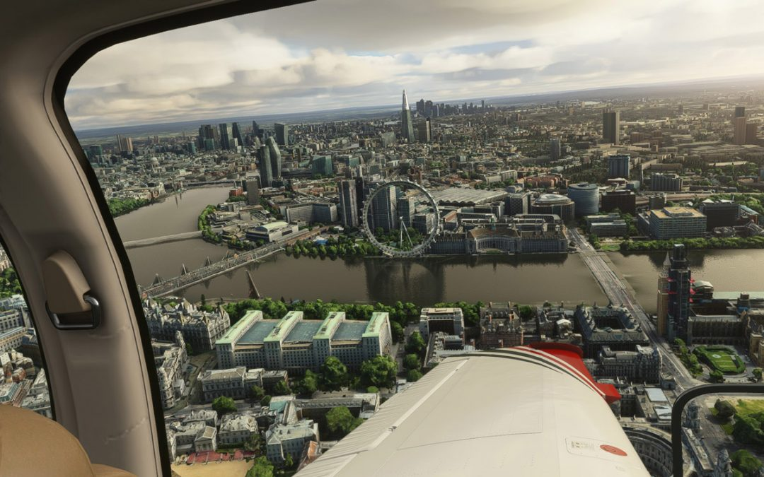 This astonishing (and free) London scenery for MSFS will blow your mind
