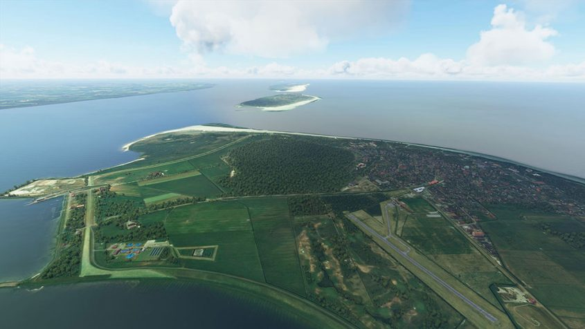 Stairport Sceneries and Aerosoft release East Frisian Islands for MSFS
