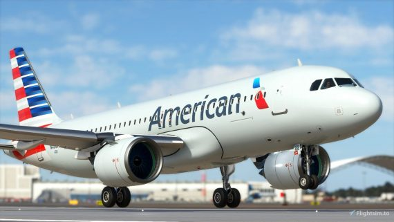 american airlines msfs livery 1