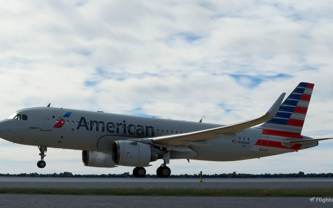 american airlines msfs livery 2