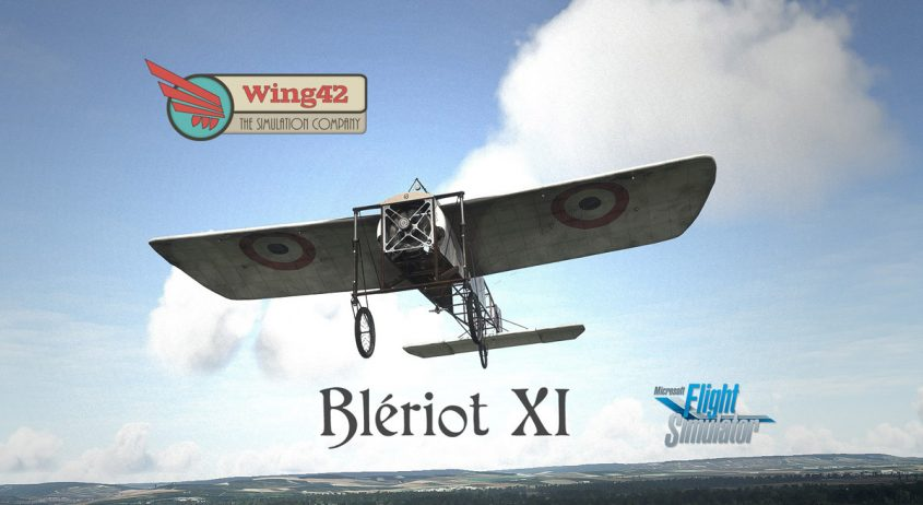 An historic aircraft for MSFS: the Blériot XI (update: released!)
