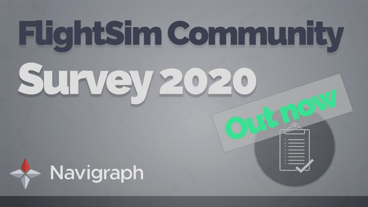 FlightSim Community Survey 2020 now open to submissions