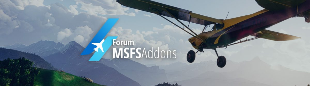 The MSFS Addons community is growing. Our Forum is now live!