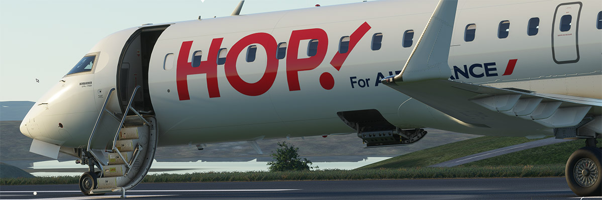 We can't handle our excitement about Aerosoft's CRJ, so here's some gorgeous new images!