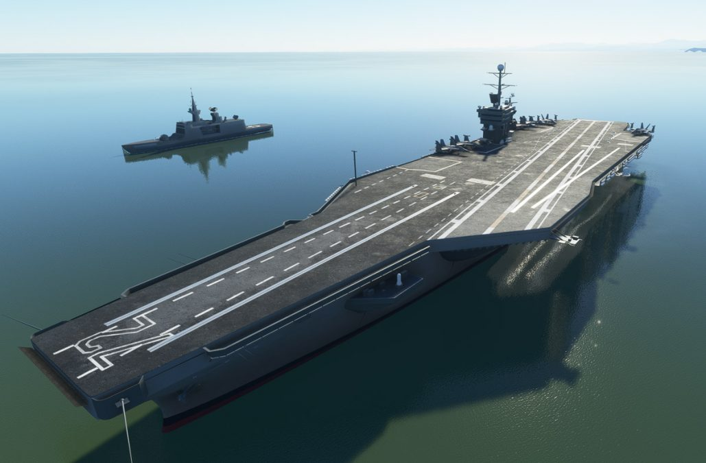 MSFS Carrier Module released, brings aircraft carrier operations support to Flight Simulator