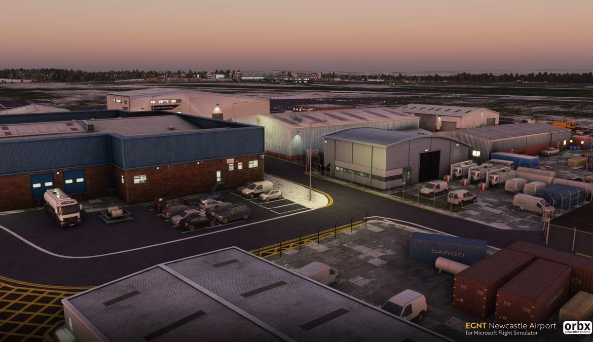 EGNT Newcastle Airport MSFS 1