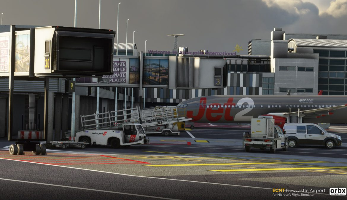 EGNT Newcastle Airport MSFS 2