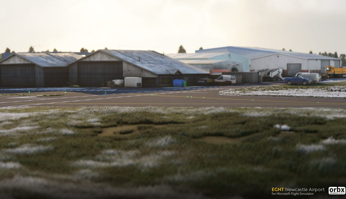 EGNT Newcastle Airport MSFS 4