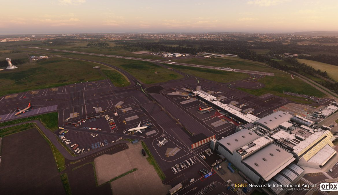 EGNT Newcastle Airport MSFS 6