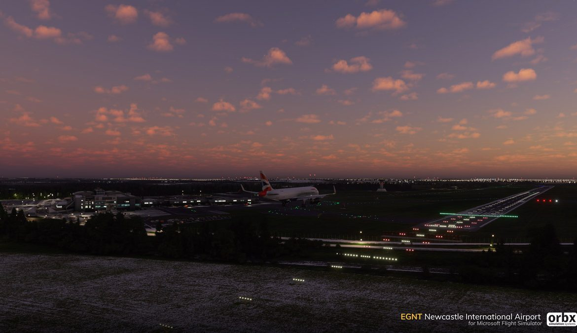 EGNT Newcastle Airport MSFS 7